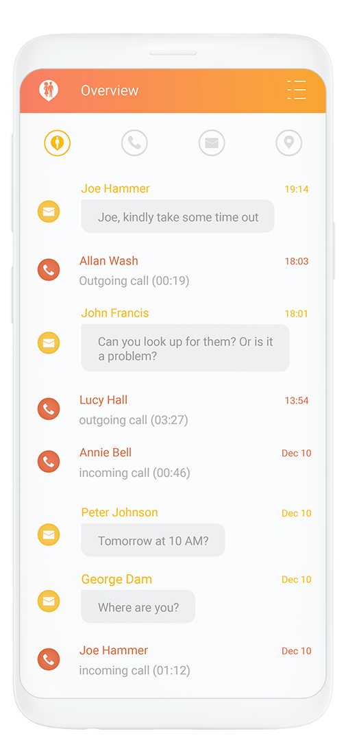 Couple Tracker - Cell phone tracker and monitor for Android